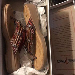 Minnetonka thong sandal